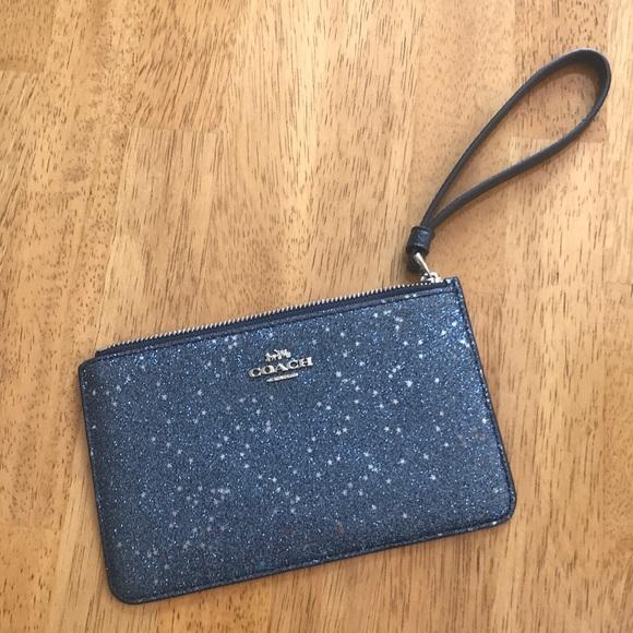 Coach Handbags - Coach wristlet new blue